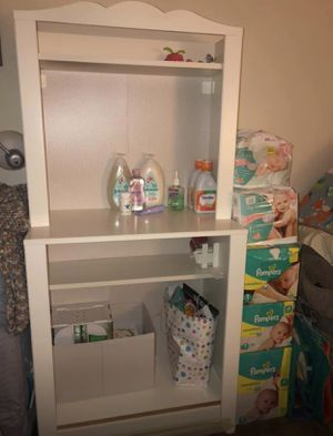 Baby Storage Shelf & Changing Table for Sale in Pittsburgh, PA