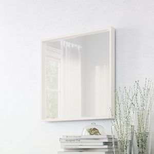 Like New White Square Mirror for Sale in Arlington, VA