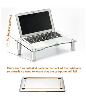 Clear tempered glass laptop for Sale in Hoffman Estates, IL