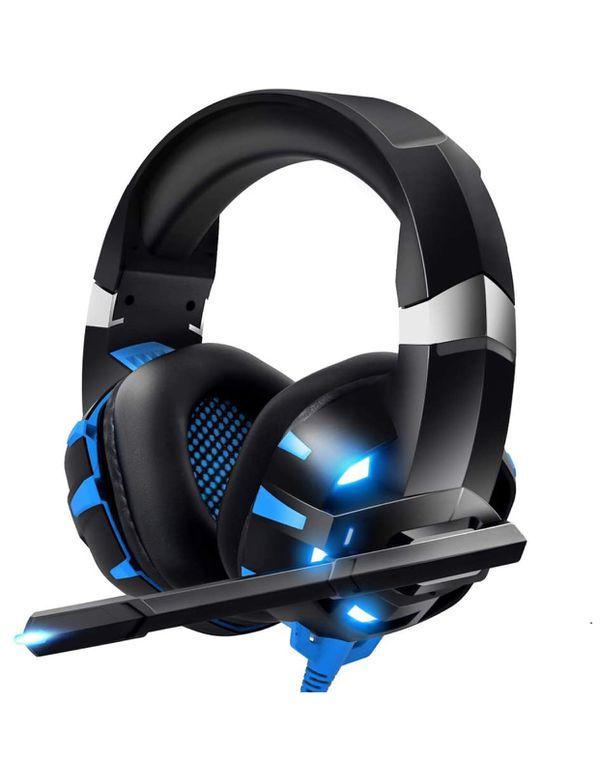 RUNMUS Gaming Headset Xbox One Headset PS4, PC