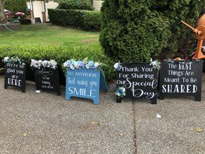 Wedding signage for Sale in Marysville, WA