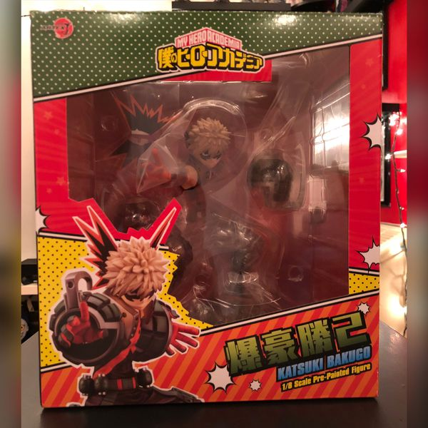 My Hero Academia Bakugo Figure