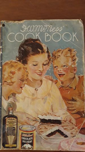 Rare Vintage Cookbook of popularAmerican recipes by Furst Mcness for Sale in Arlington, TX