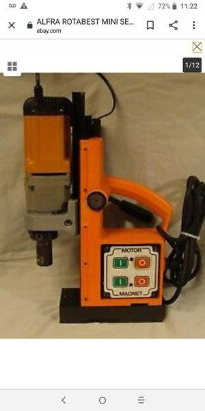 Alfra Magnetic Core Drill Press for Sale in Dallas, TX