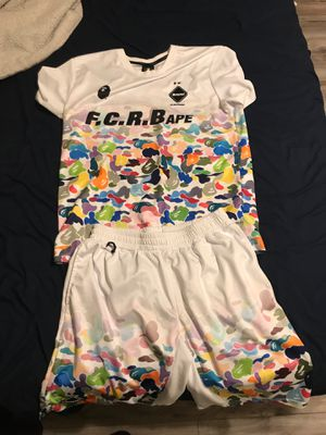 Bape X soccer jersey callab for Sale in TEMPLE TERR, FL