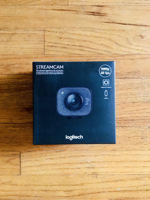 Logitech Streamcam webcam 1080p 60fps brand new for Sale in Fullerton, CA