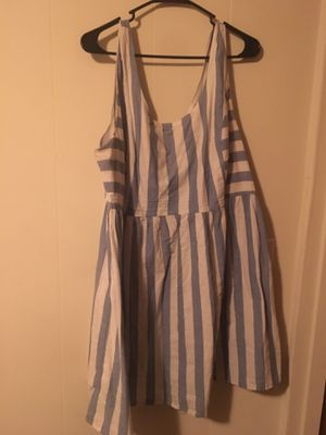 Forever 21 Blue & White Striped Dress for Sale in Newark, CA