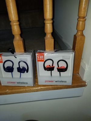 Power 3 wireless headsets for Sale in Germantown, MD