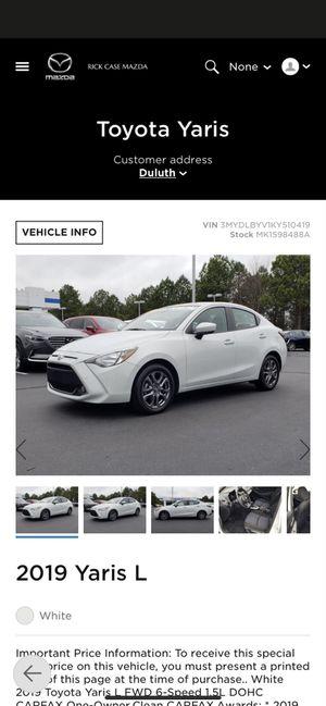 Toyota Yaris for Sale in Duluth, GA