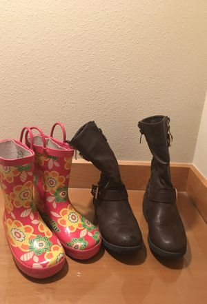 Girls boots for Sale in Issaquah, WA