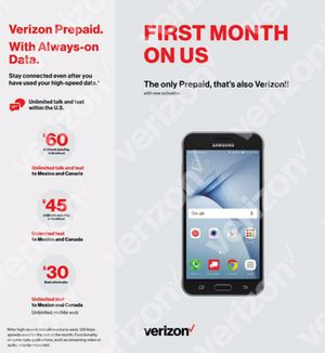 VERIZON prepaid New Deal for Sale in Phoenix, AZ