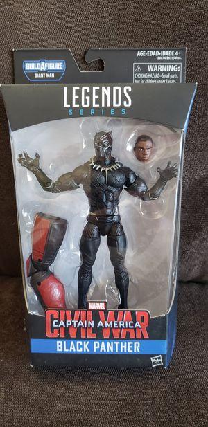 """Marvel Legends Avengers Civil War BLACK PANTHER 6""""inch Action Figure BAF Giant Man for Sale in San Diego, CA"""