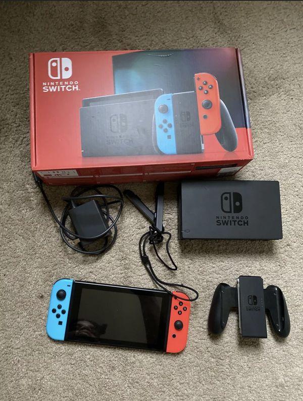 Nintendo switch 32GB (Supersmash bros) included