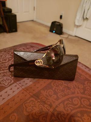Gucci sunglasses with case for Sale in McDonough, GA