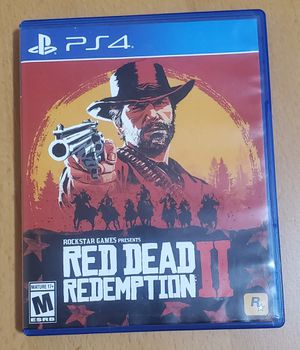 PS4 Game Red Dead Redemption 2 RDR2 for Sale in Los Angeles, CA