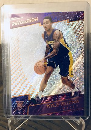 Kyle Kuzma Rookie Card for Sale in Dallas, TX