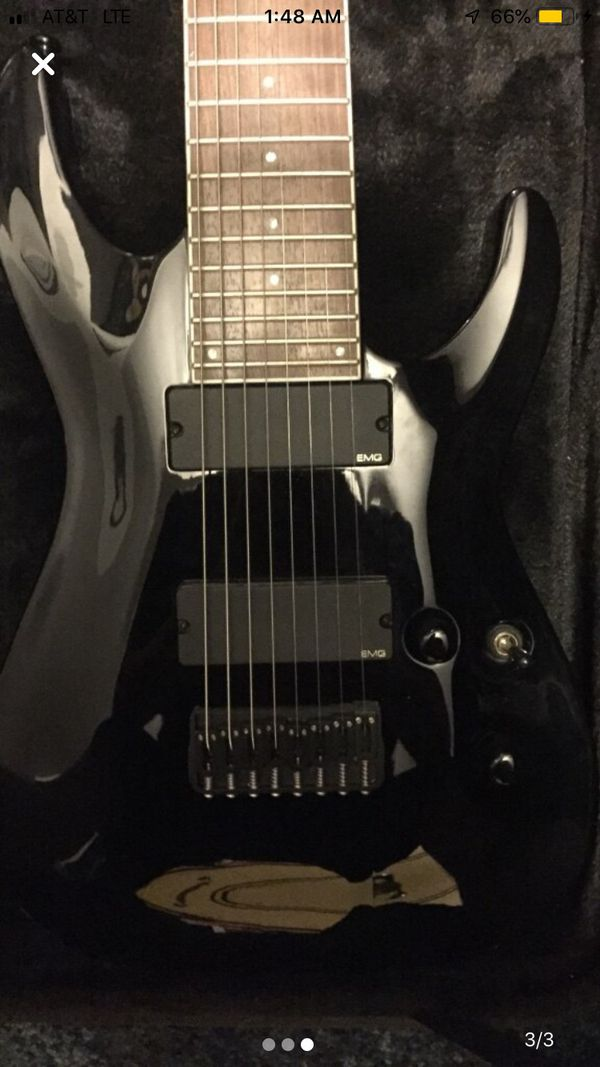 Esp Ltd fm-408 8 string electric guitar