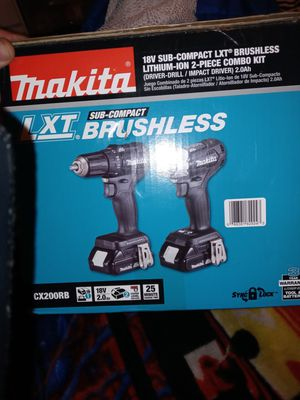 Makita sub compact brushless LXT 2 tool combo kit for Sale in Kenmore, WA
