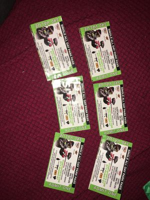 Paintball tickets for Sale in Huntington Park, CA