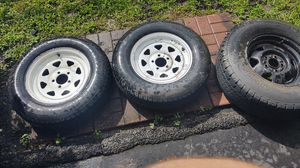Trailer tires and rims for Sale in Zephyrhills, FL