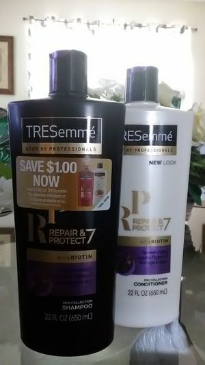 TRESemmé Repair & Protect w/ Biotin Shampoo & Conditioner (22oz) for Sale in Frostproof, FL