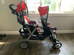 Chico Cortina Together Double Stroller for Sale in Holmdel, NJ