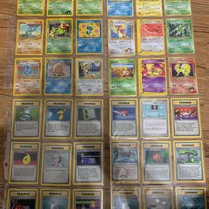 260 Pokemon Cards Some Multiples All Perfect Condition for Sale in Conroe, TX
