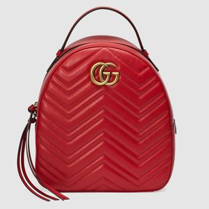 Red Gucci GG Marmont Quilted Backpack 🔥 for Sale in Atlanta, GA