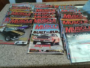 Over 32 muscle machine magazines mint condtion for Sale in Santa Cruz, CA