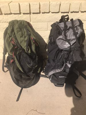 Hiking backpacks for Sale in Phoenix, AZ