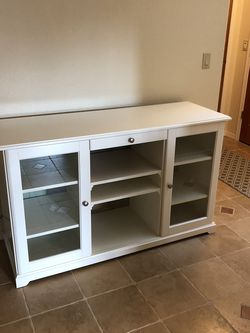 White IKEA Cabinet - Liatorp for Sale in Renton,  WA