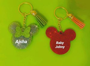 Personalized micky & Minnie Keychains for Sale in Poinciana, FL
