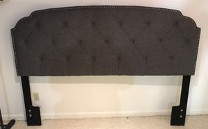 Headboard with metal bed frame for Sale in Lexington, KY