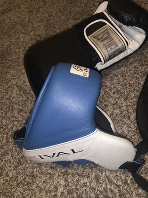 Boxing gear ( head gear, 2 pair of gloves ) for Sale in Washington, DC