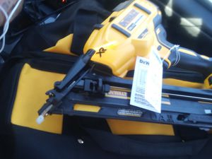 Dewalt xr 20v nail gun brand new with battery and charger for Sale in Phoenix, AZ