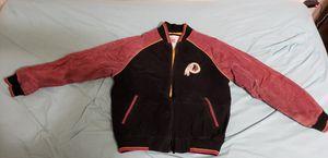 Large Vintage Redskins Leather/Suede Bomber Jacket for Sale in Fairfax, VA
