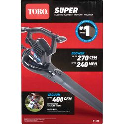 Toro 51618 Super Blower Electric Handheld Leaf Blower for Sale in Rockville,  MD