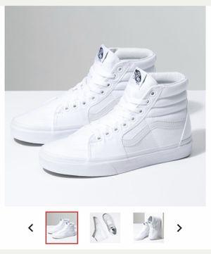 VANS HI TOP WHITE for Sale in Hayward, CA