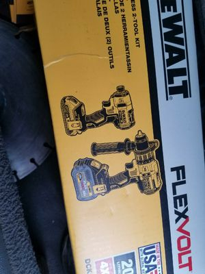Dck299 Flex 20v dewalt hummer drill and driver brushless for Sale in Revere, MA