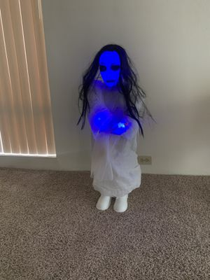 Halloween scary doll for Sale in West Sacramento, CA