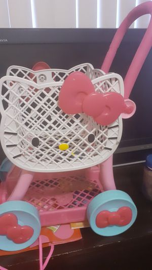 Hello kitty shopping cart for Sale in Joint Base Lewis-McChord, WA