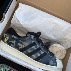 BAPE Undefeated Adidas Superstar for Sale in Costa Mesa, CA
