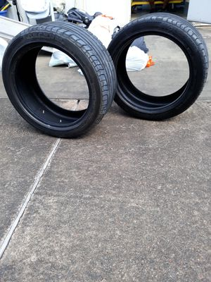 2 used Forceum 245/45 ZR18 tires for Sale in Alexandria, LA