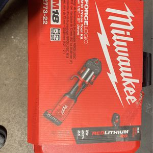 Milwaukee M18 Press Tool Brand New for Sale in Wethersfield, CT
