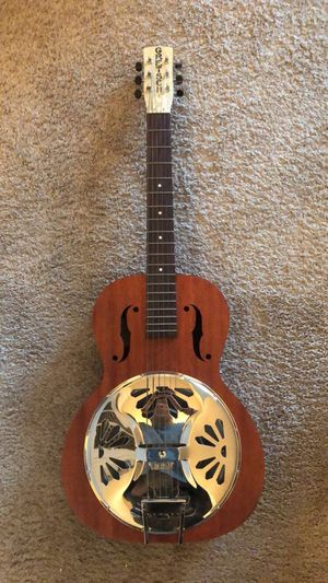 Gretsch resonator guitar for Sale in Raleigh, NC