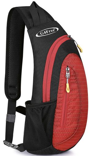 G4Free Sling Bags Men Shoulder Backpack Small Cross Body Chest Sling Backpack for Sale in Highland, CA