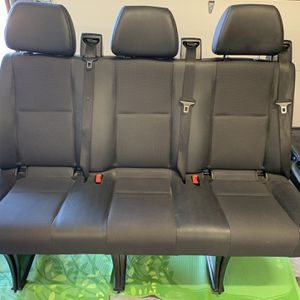 Sprinter 3 Seat bench for Sale in Trabuco Canyon, CA