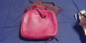 Coach Travel Case, Red for Sale in McKees Rocks, PA