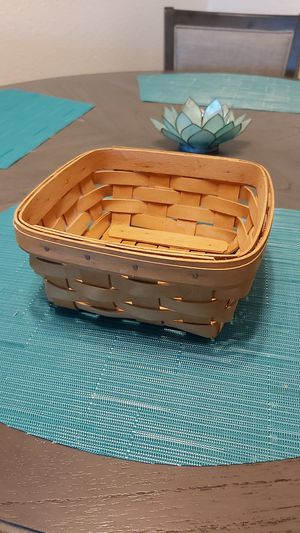 Longaberger basket buy 3 get 1 free for Sale in Tigard, OR