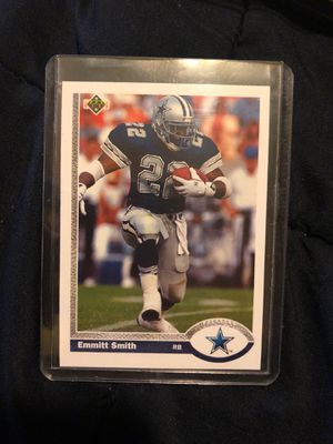 1991 Upper Deck Emmitt Smith Rookie for Sale in Snohomish, WA